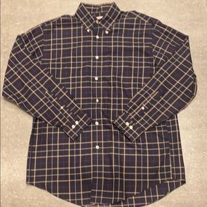 Brooks Brothers - Navy/Red Plaid Button Down